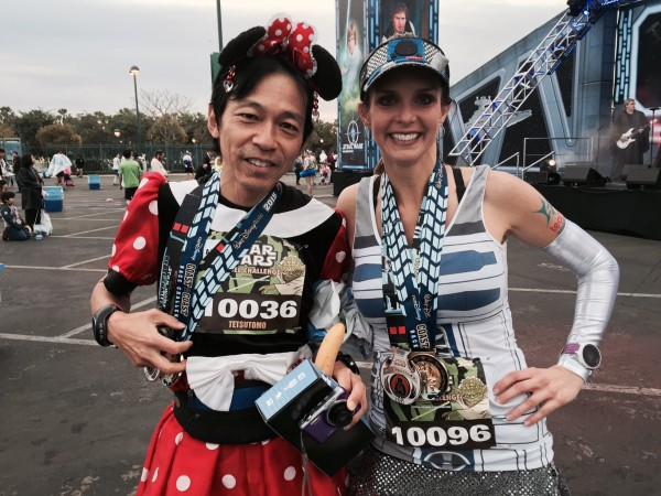 This guy runs every single Half and Full Marathon Disney puts on...always as Minnie Mouse!