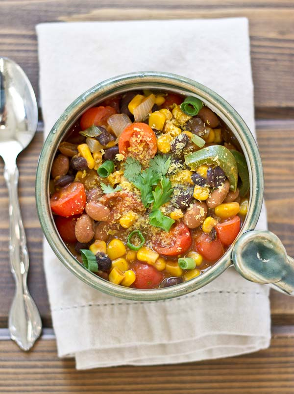Southwestern Bean Soup | The Diet Diva